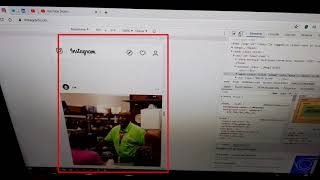 النشر في الإنستا من الكمبيوتر